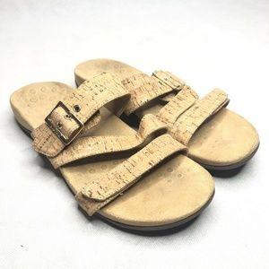 Vionic 341 Skylar Sandal Cork Slide Slip Ons